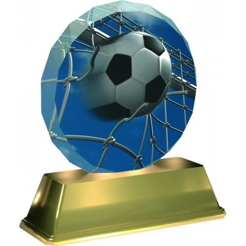 Fussball Figur Aus Acrylglas 10mm Dick Inkl Beschriftung