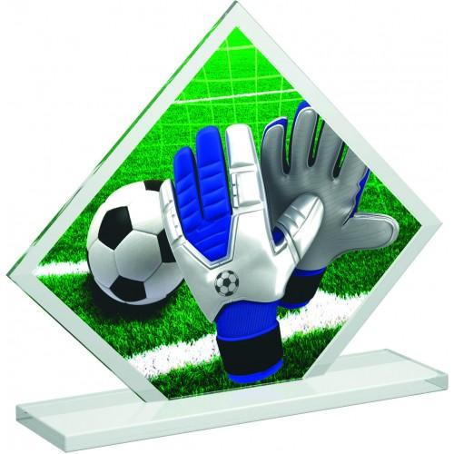 Fussball Figur Aus Acrylglas In 2 Verschiedenen Grossen 3mm