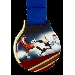 Medaille aus Metall mit Digitaldruck