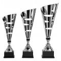 Design Pokale inkl. Beschriftung auf Sockel montiert