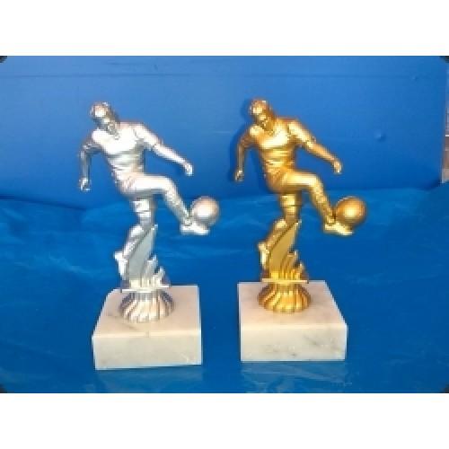 Fussball Figur Montiert Auf Marmorsockel 16 5cm Inkl